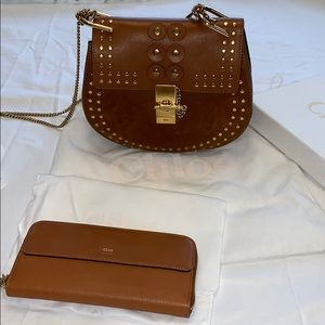 Chloe crossbody/shoulder bag in caramel! LIKE NEW